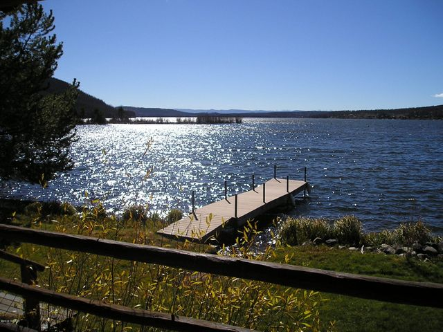 Paradise Found on sparkling Shadow Mountain Lake and IN TOWN! With approximately 72 feet of Lakefront & Private Dock!