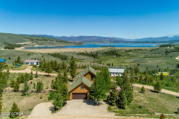 Lake Granby Views from this gorgeous home!