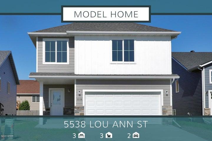 5538 LOU ANN Street, GRAND FORKS, ND 58201