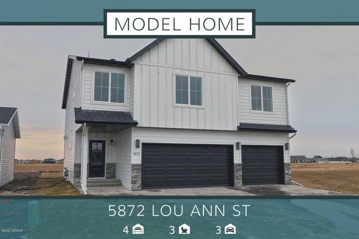 5872 LOU ANN Street S, GRAND FORKS, ND 58201