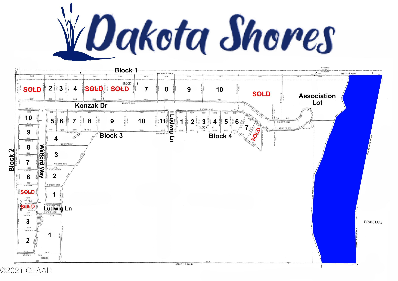 LOT 4 BLOCK 1 DAKOTA SHORES, DEVILS LAKE, ND 58301