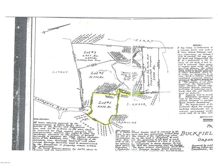 50 Lafrentz - Lot 1 Road, Greenwich, CT 06831