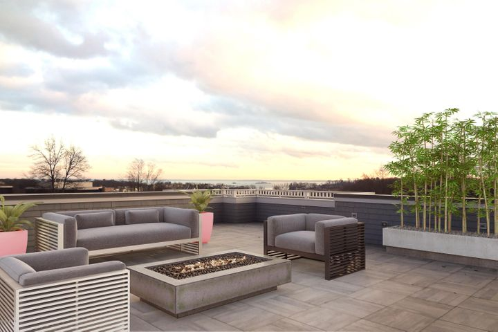 Virtually Staged Private Terrace