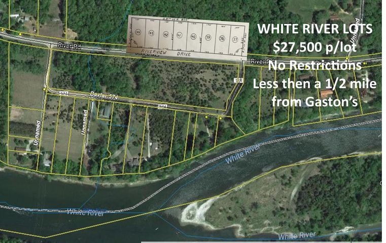 Lots37-44 River Road, Lakeview, AR 72642
