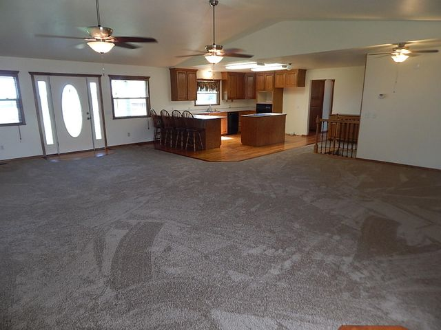 Fresh paint, new carpet and flooring up and downstairs....ready for new farm family!