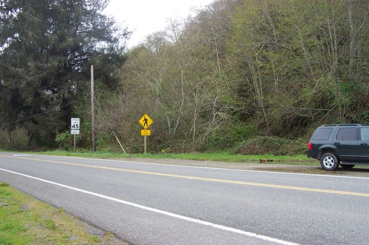 Highway Turnout Looking Southwest
