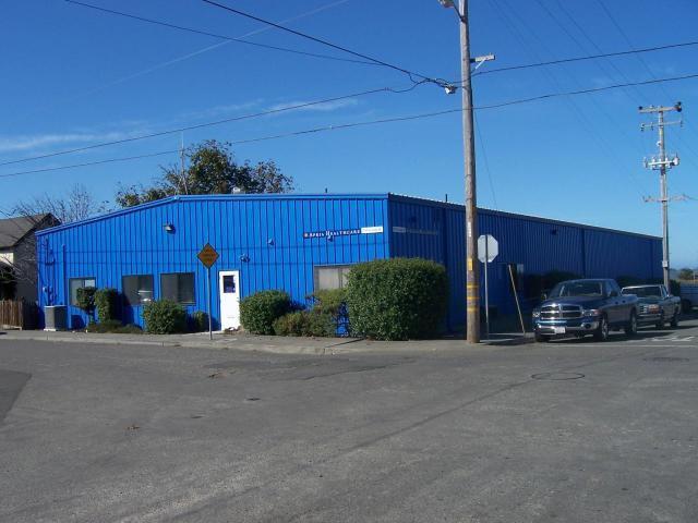 Clean quiet warehouse