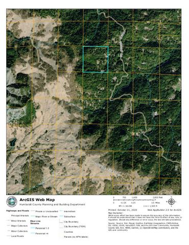 0 Bear Creek Road, Dinsmore, CA 95526