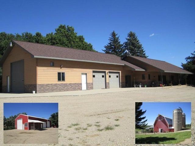Custom Built Home & Garage & 89 Acres