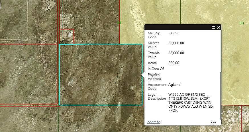 12500 W 24800 N Approximate, Lund, UT 84714