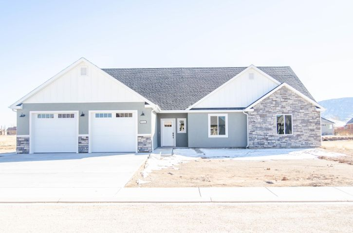 Front View- PICTURE OF SIMILAR BUILT HOME. COLOR SCHEME WILL BE DIFFERENT