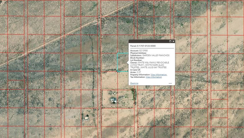 Lot 1054 Garden Valley Ranchos Unit 1, Beryl UT 84714
