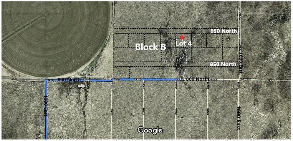 1424 E 950 North Lot 4 Block B, Beryl UT 84714