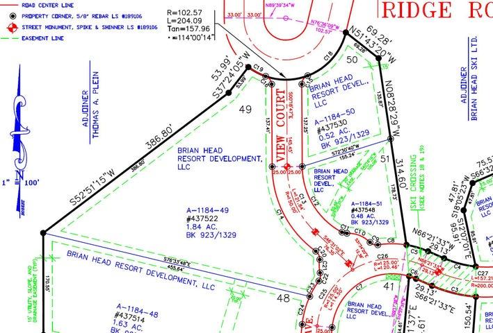 LOT 49 TRAILS AT NAVAJO PHASE 2B, Brian Head UT 84719