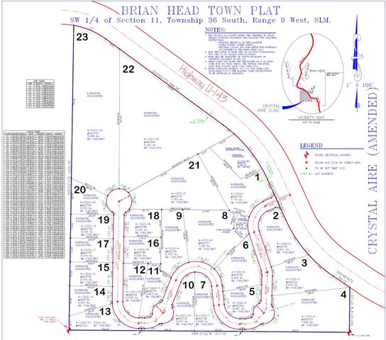 187 W ZION VIEW Dr, Brian Head UT 84719