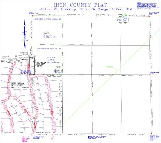 76.15 acres at Cross Hollow Hills, Cedar City UT 84720