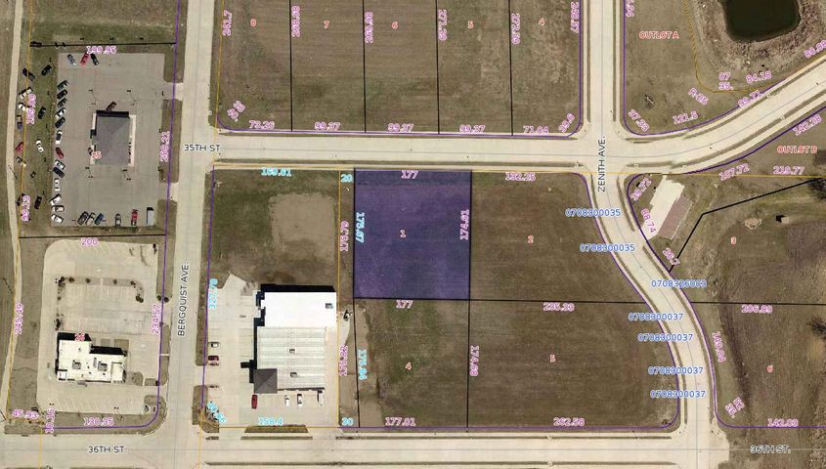 Lot 1 35th Street, Lot 1, Spirit Lake, IA 51360