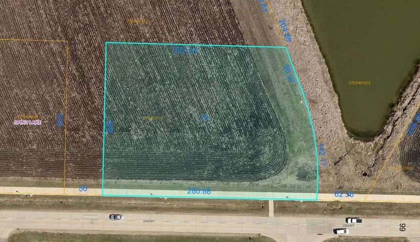 1810 23RD Street, Lot #13, Spirit Lake, IA 51360