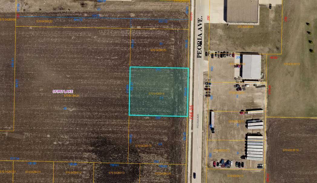 2110 Peoria Avenue, Lot #23, Spirit Lake, IA 51360