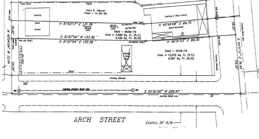0 CORNER OF ARCH & FRANKLIN STREET, EPHRATA, PA 17522
