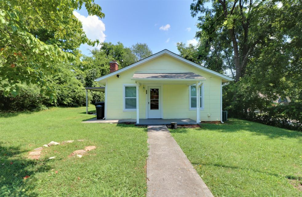 Convenient location to downtown and UT campus. Property has French drains installed. New 3-TAB roof installed April 2018. Brand new carpeting in the living room and new vinyl flooring in the bathroom. Buyer to verify square footage. Being sold AS IS.