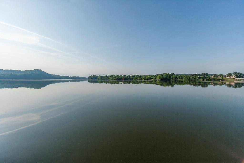 panoramic lake view