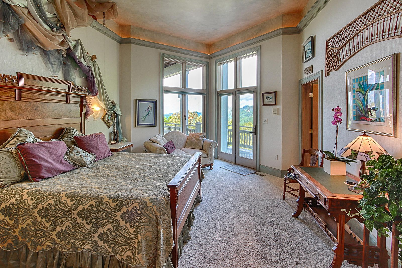Bedroom 4 has Beautiful Views