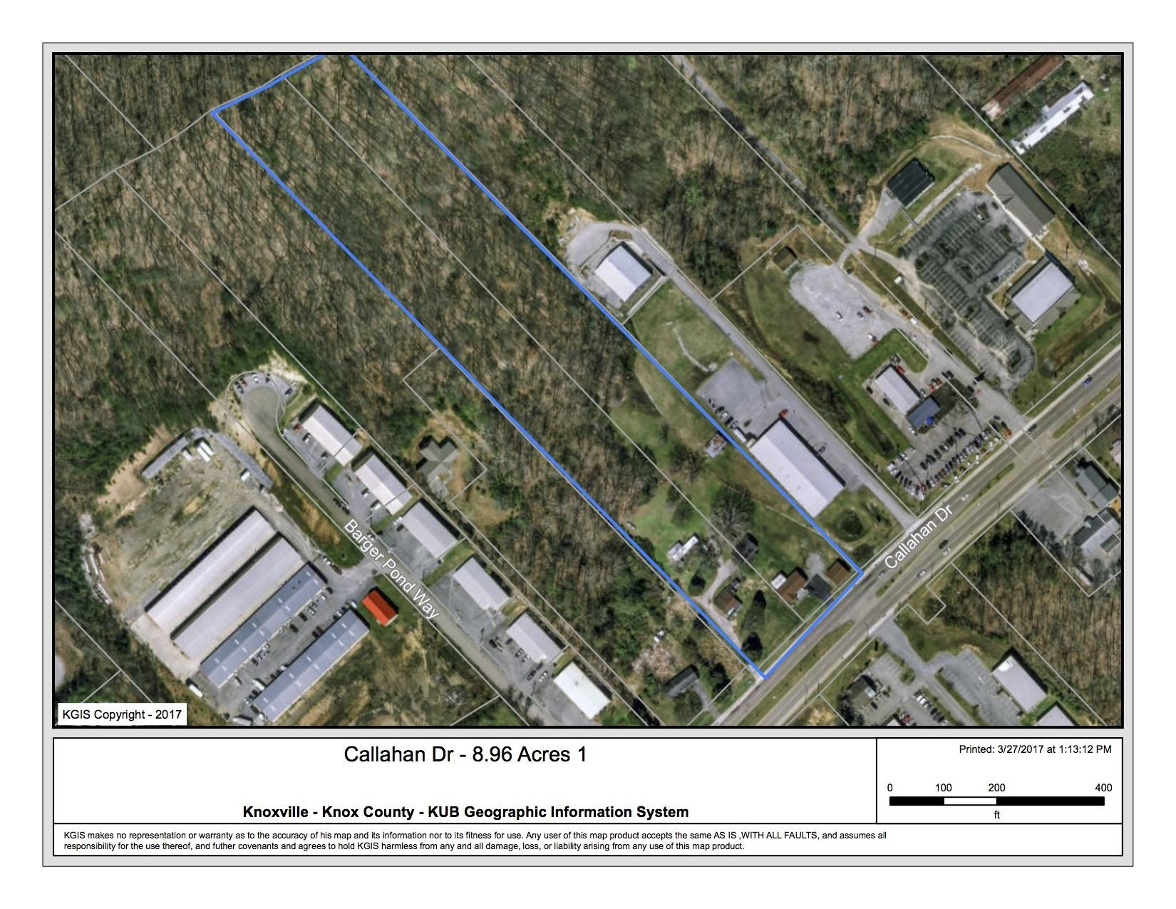 Callahan Dr - 8.96 Acres Outlined 1