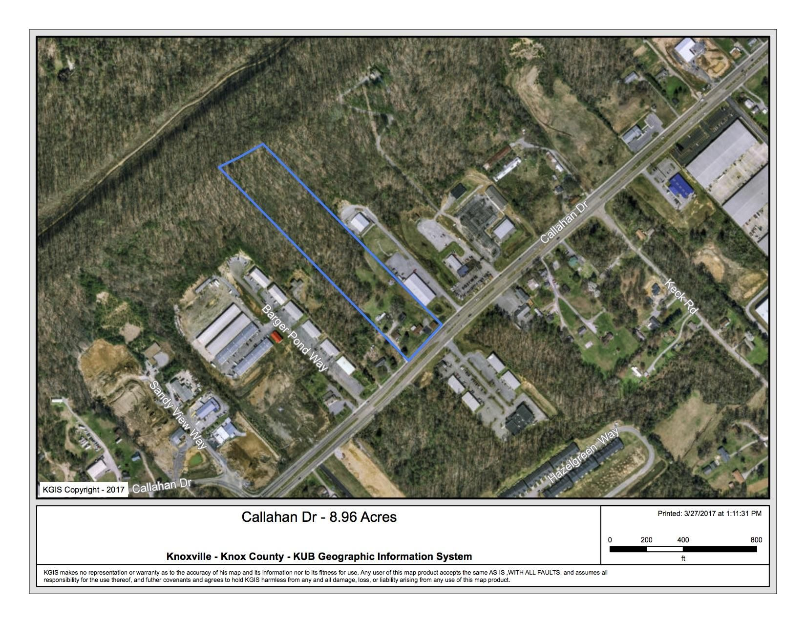 Callahan Dr - 8.96 Acres Outlined 2