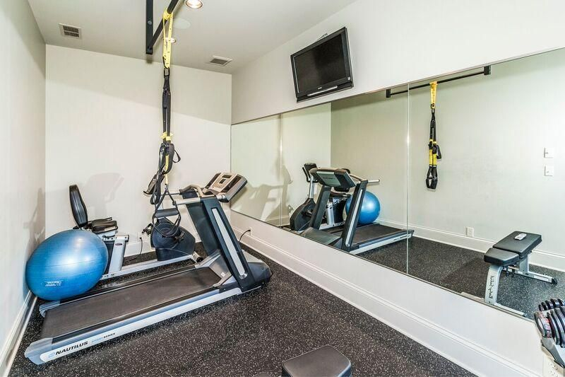 lower level exercise rm