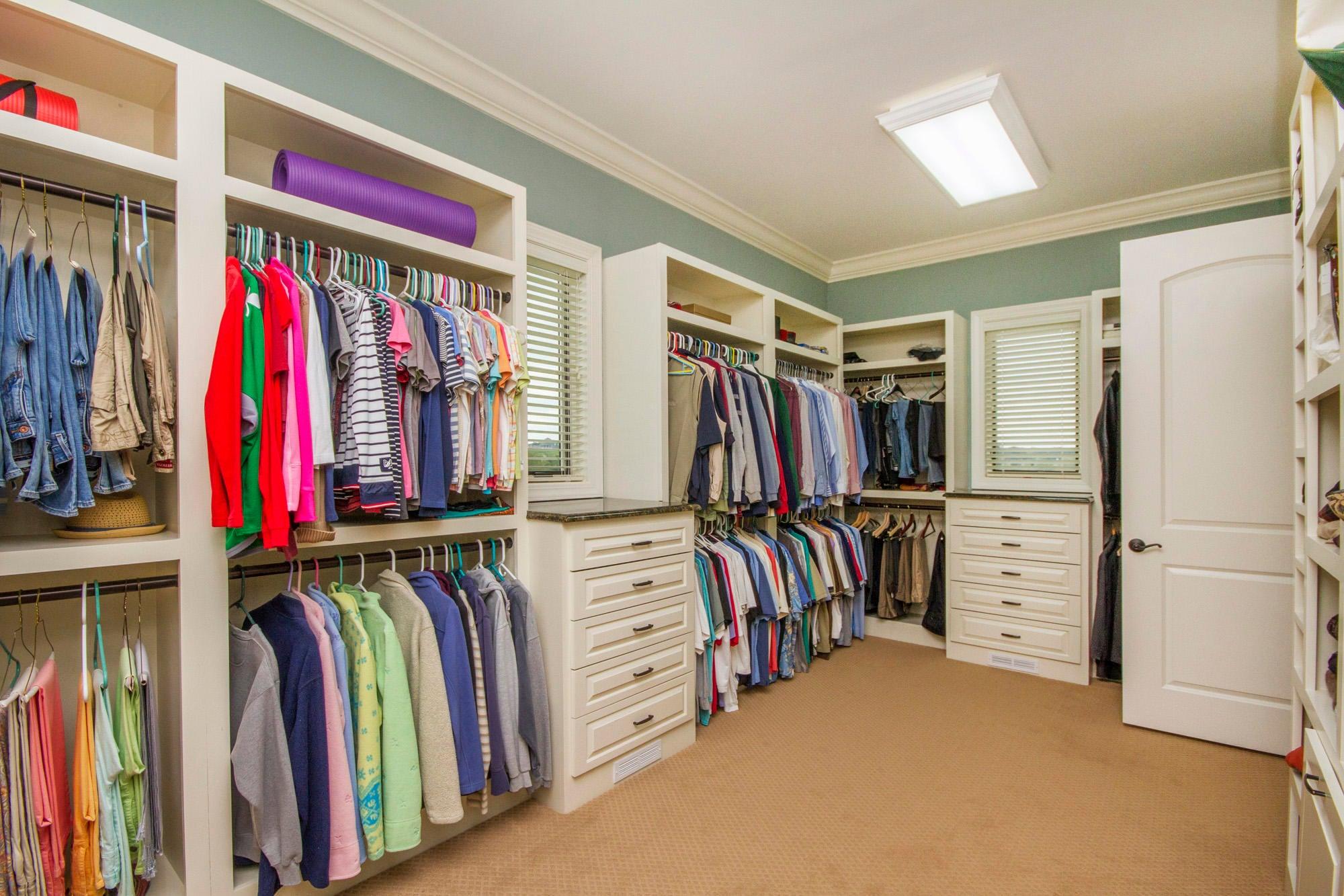 Huge, Organized & Bright Closet!