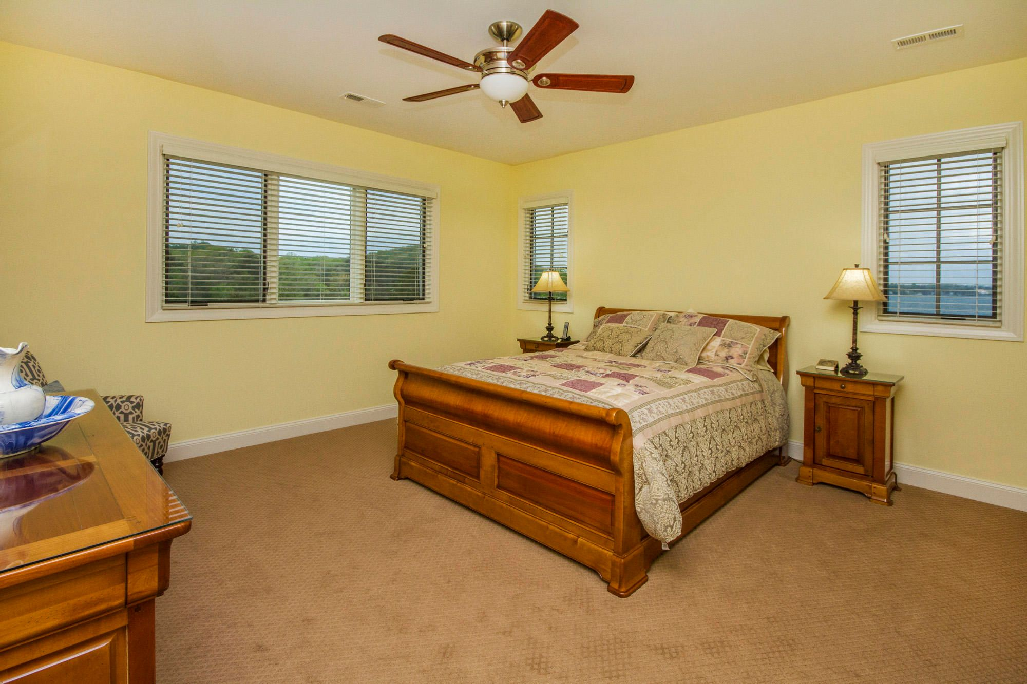 Guest Suite 2 with Lake Views!