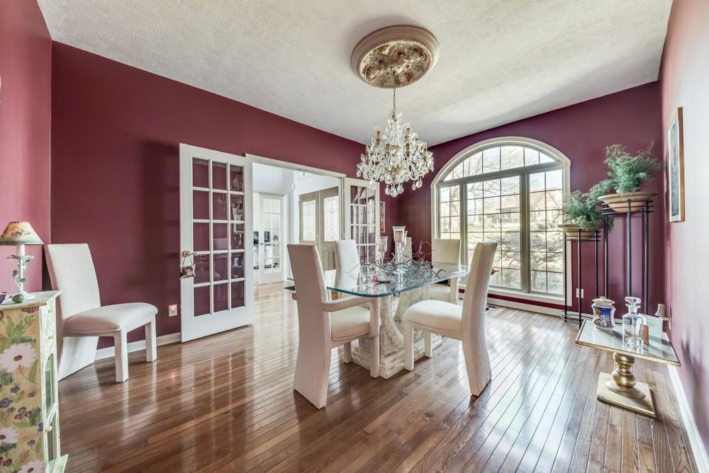 Exquisite dining room