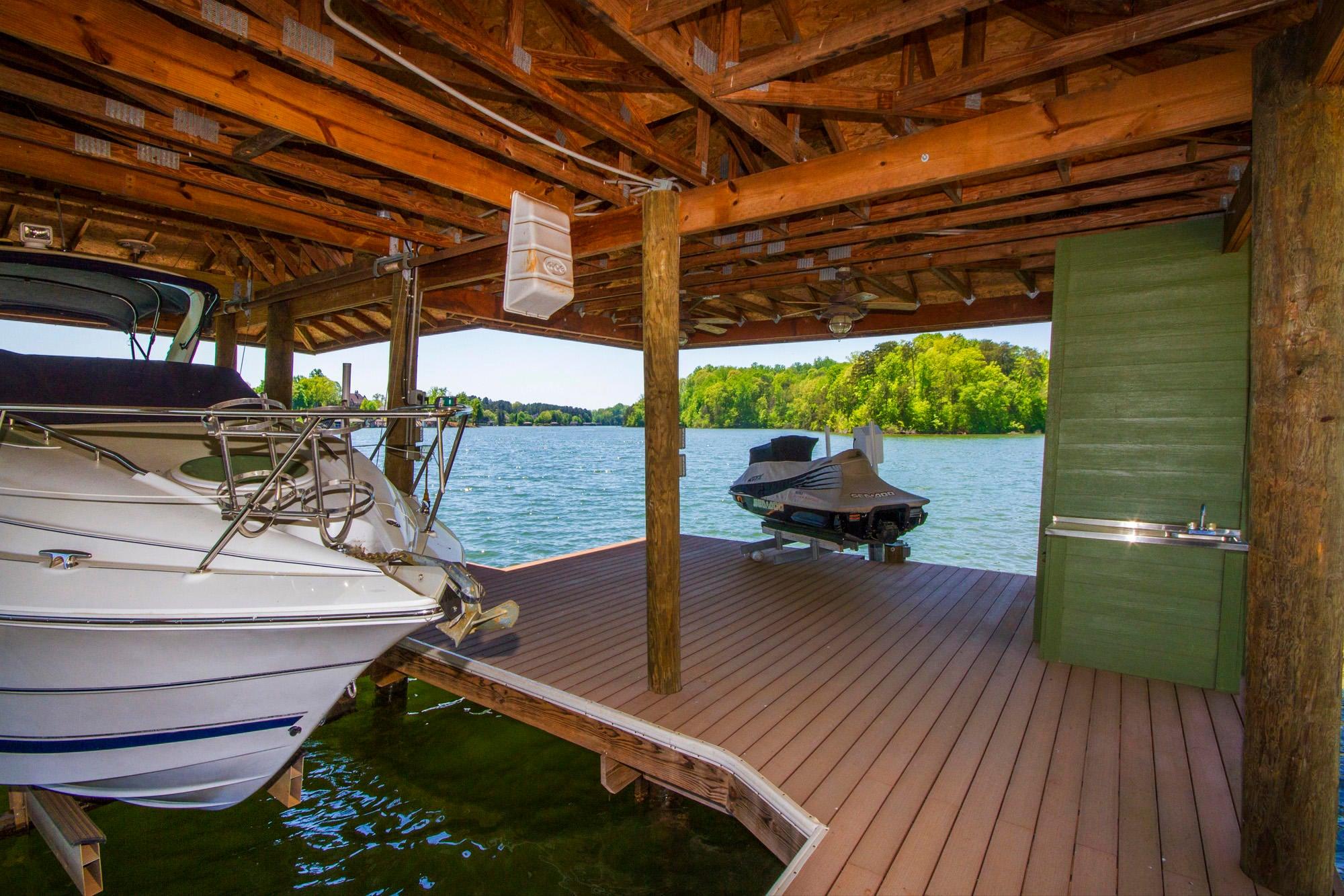 Covered Boat & Jet Ski Lifts!