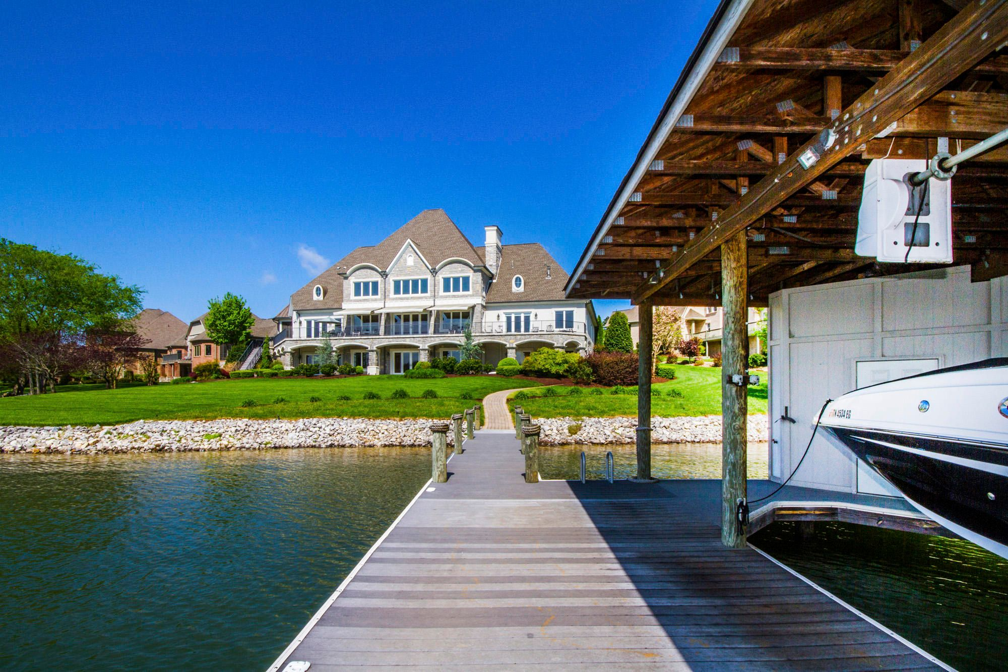 From the Dock to the House