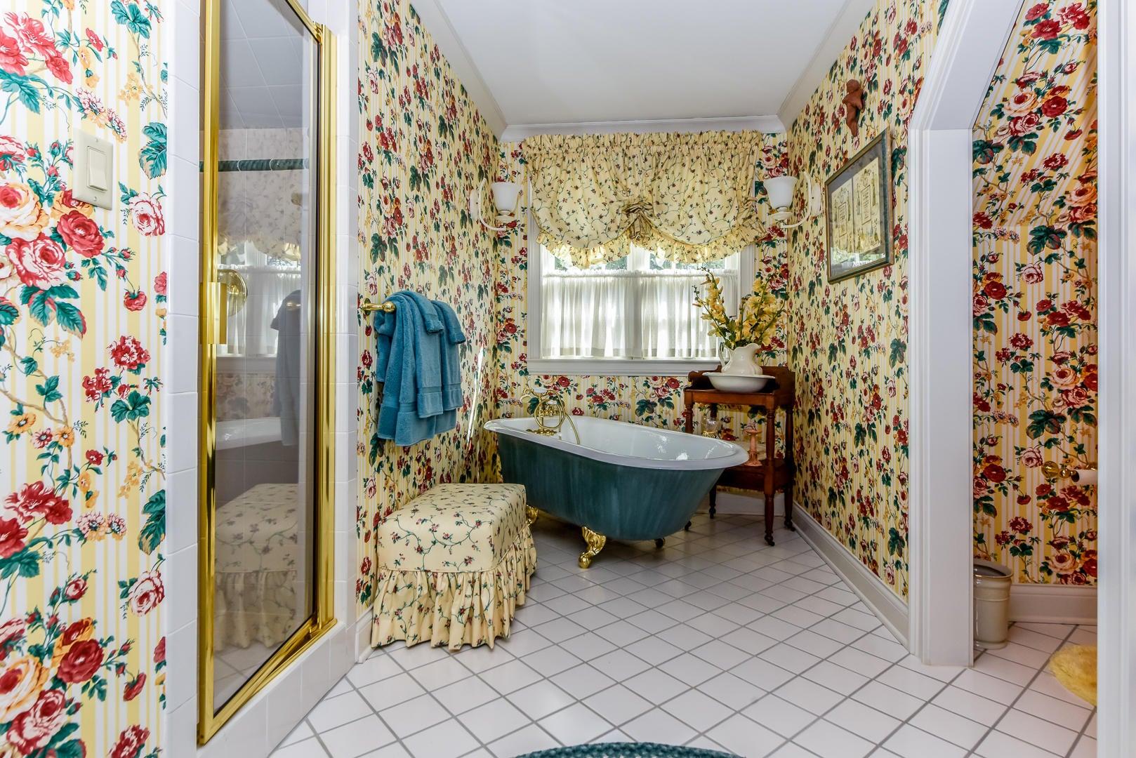 Second bath off bedroom upstairs