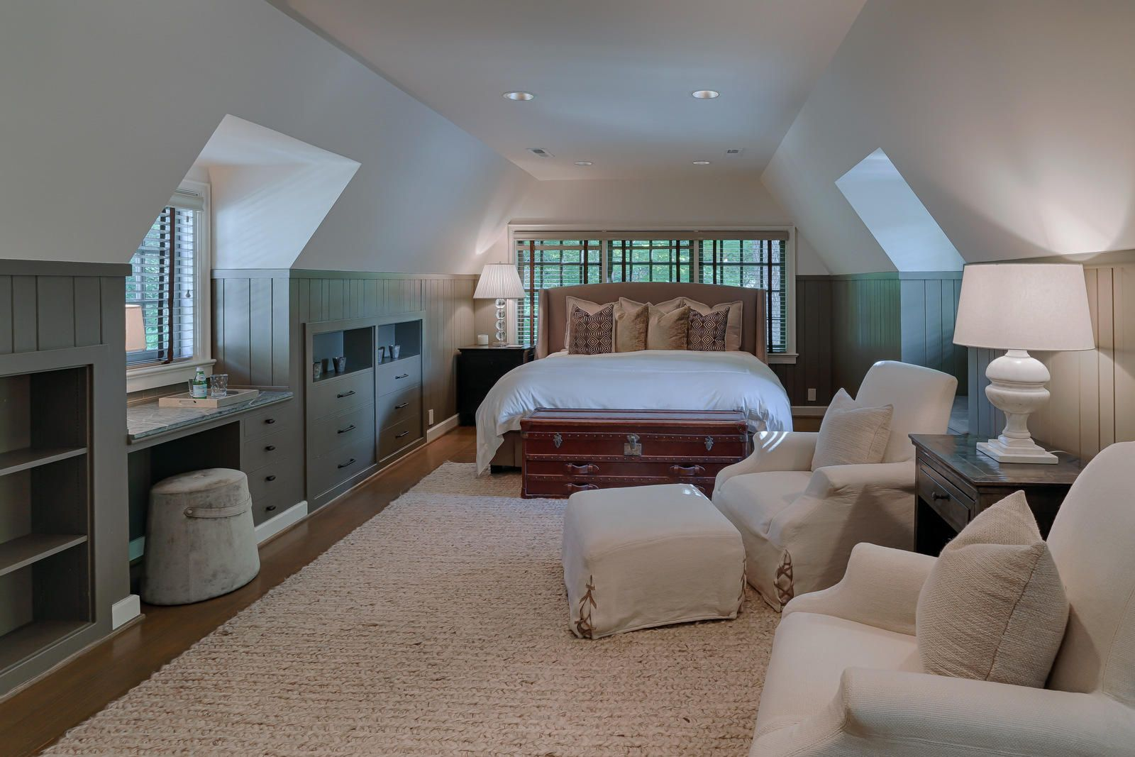Over garage guest bedroom