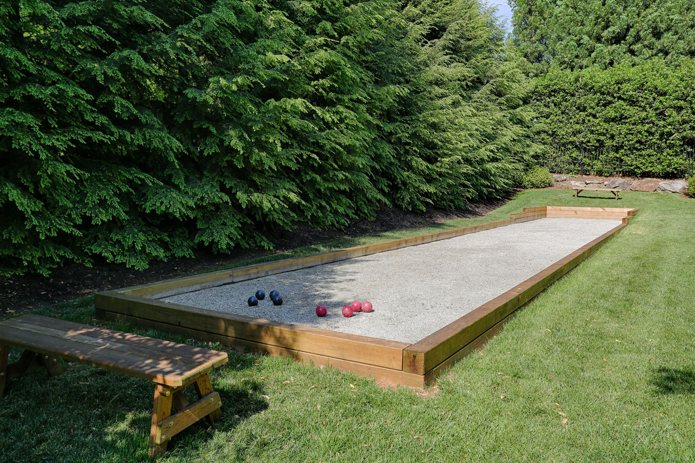 Custom Bocce Ball Court