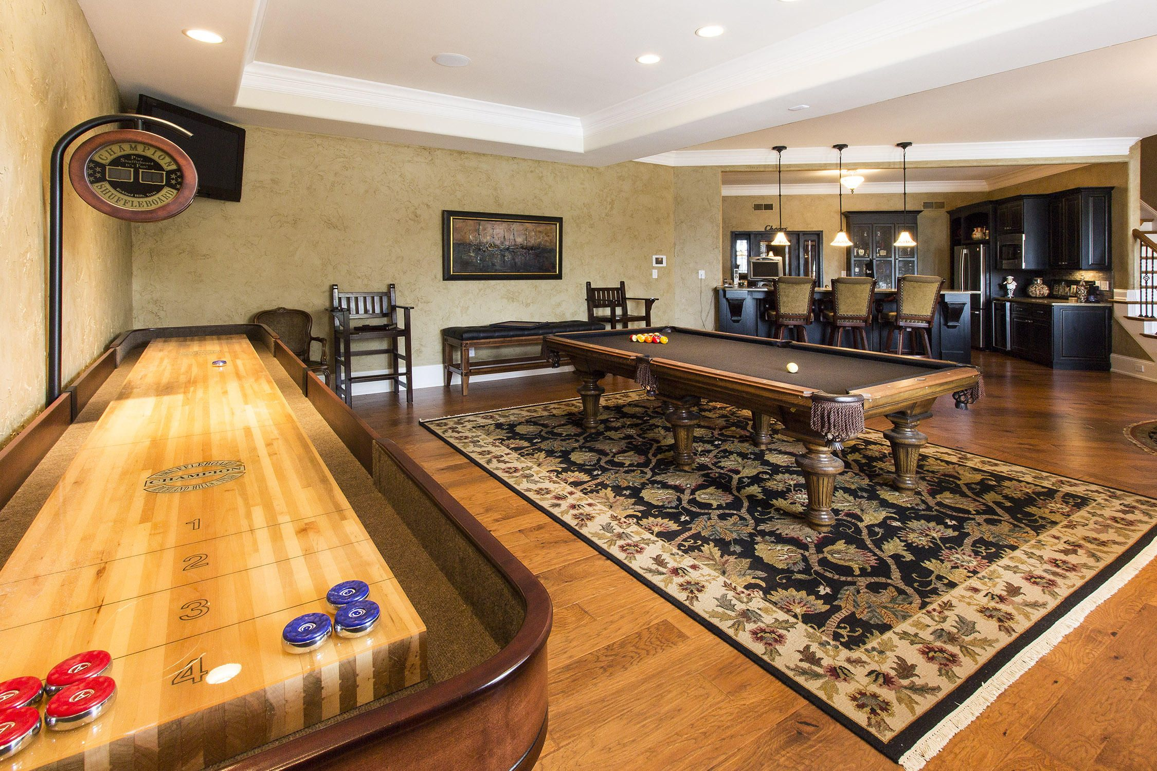 Billiards Room Lower Level