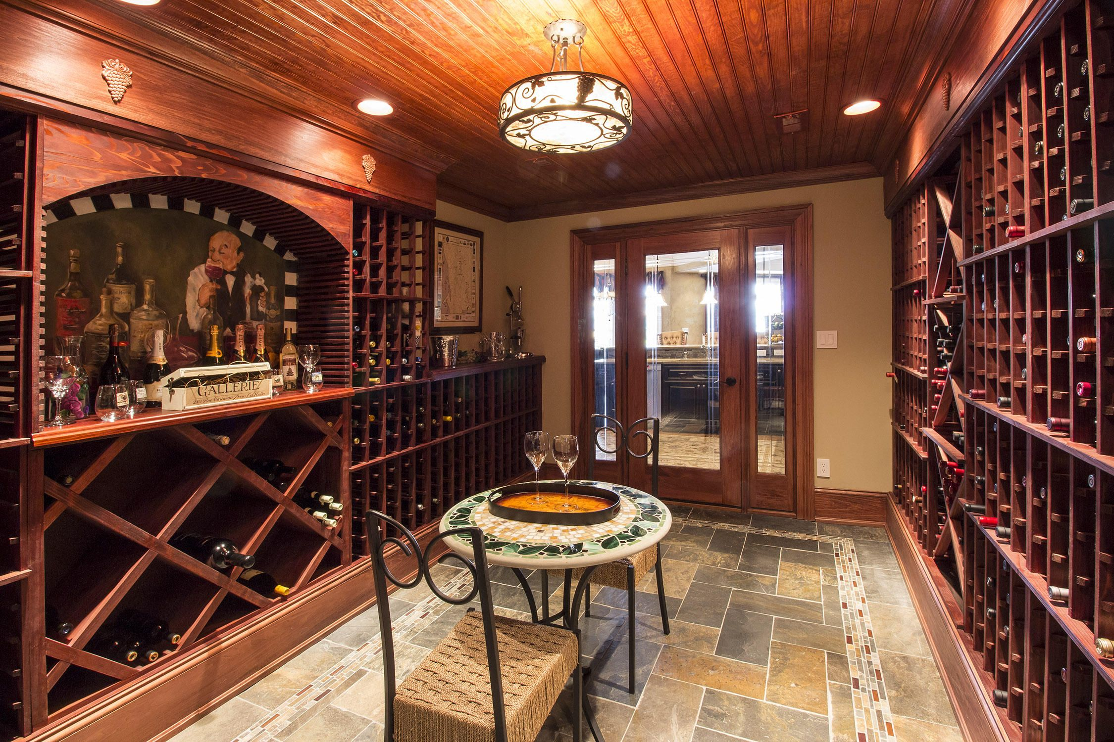 Wine Cellar Lower Level