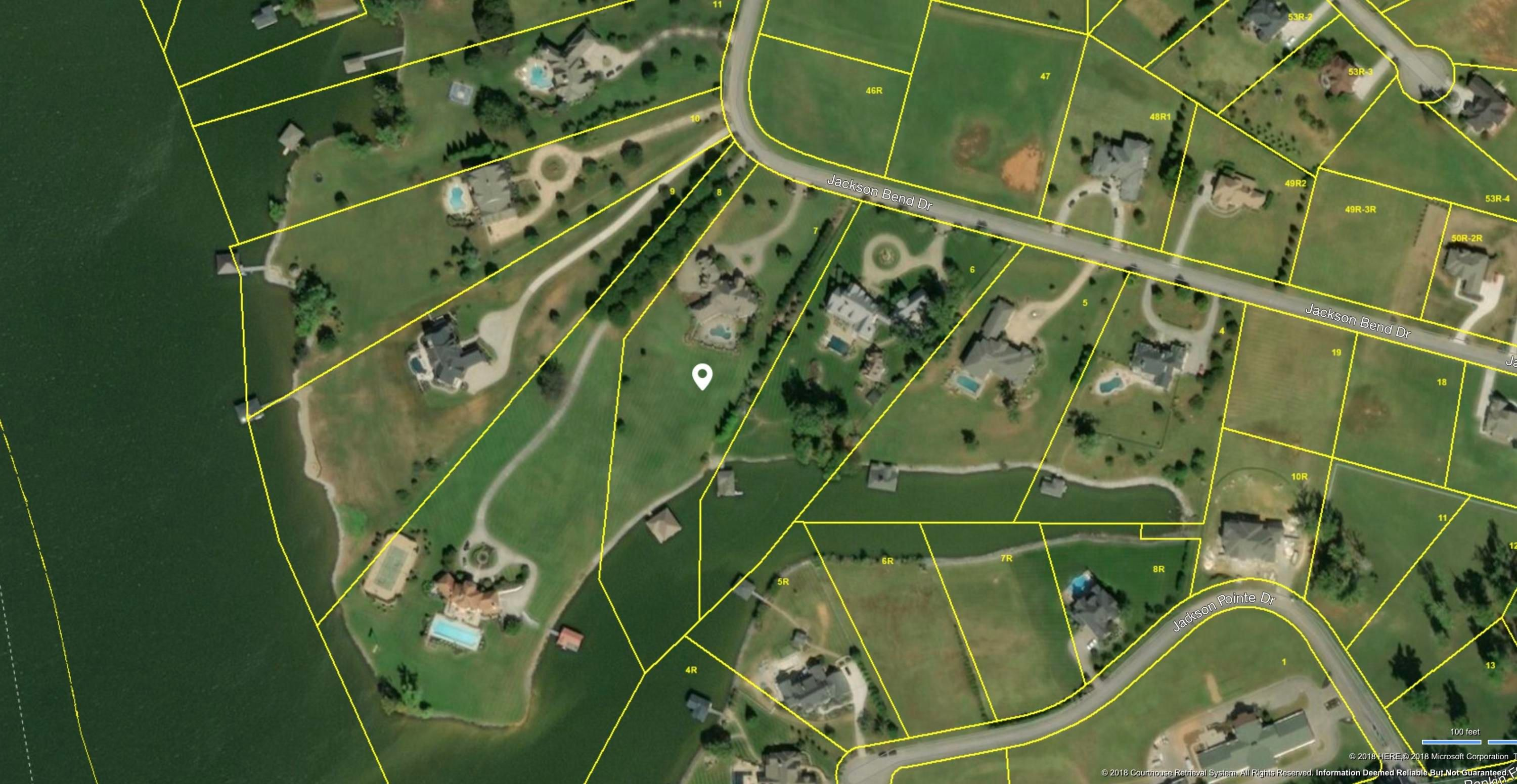 3775 Jackson Bend Dr. Aerial Map