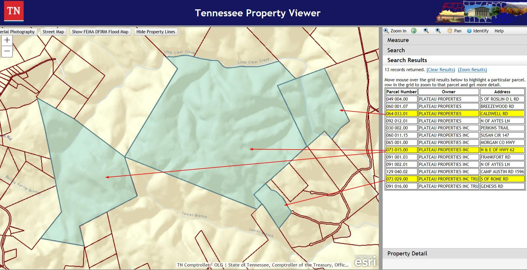Exhibit A TN Property Viewer