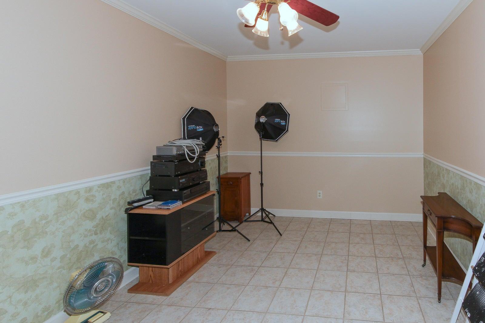 lower level hobby area