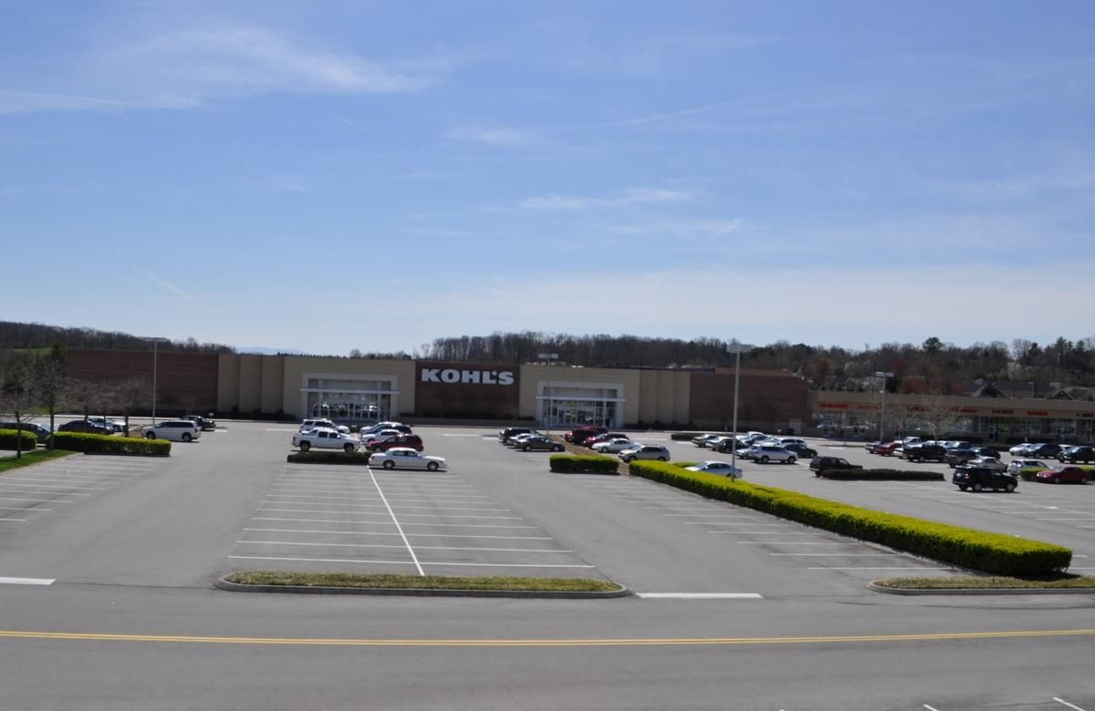 Kohls Shopping Center adjoins prop