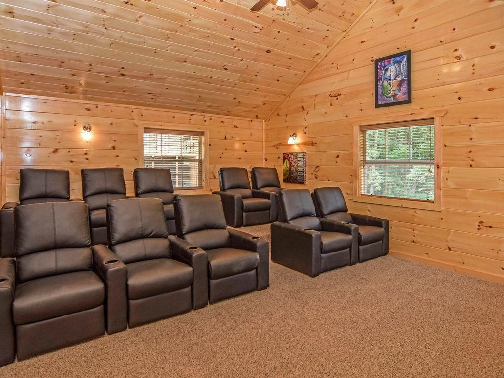 cabin 1 theater room