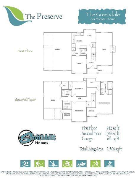 Greendale Floorplan