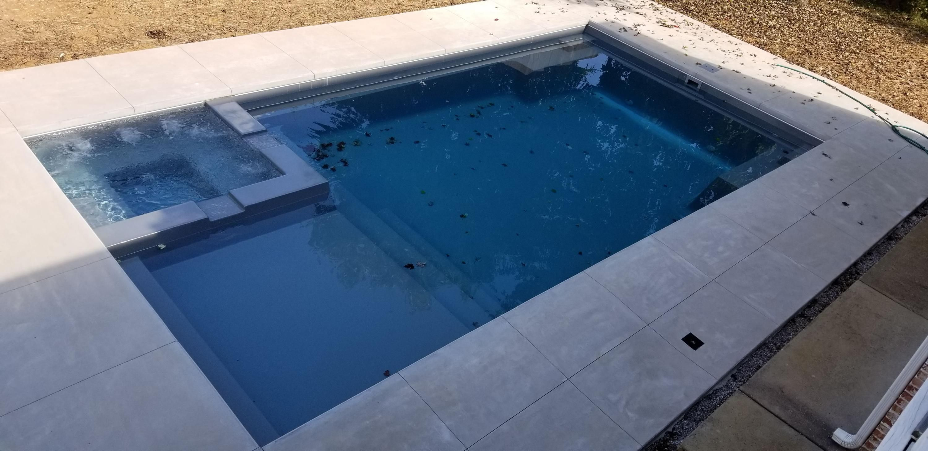 New Salt Water Pool and Spa