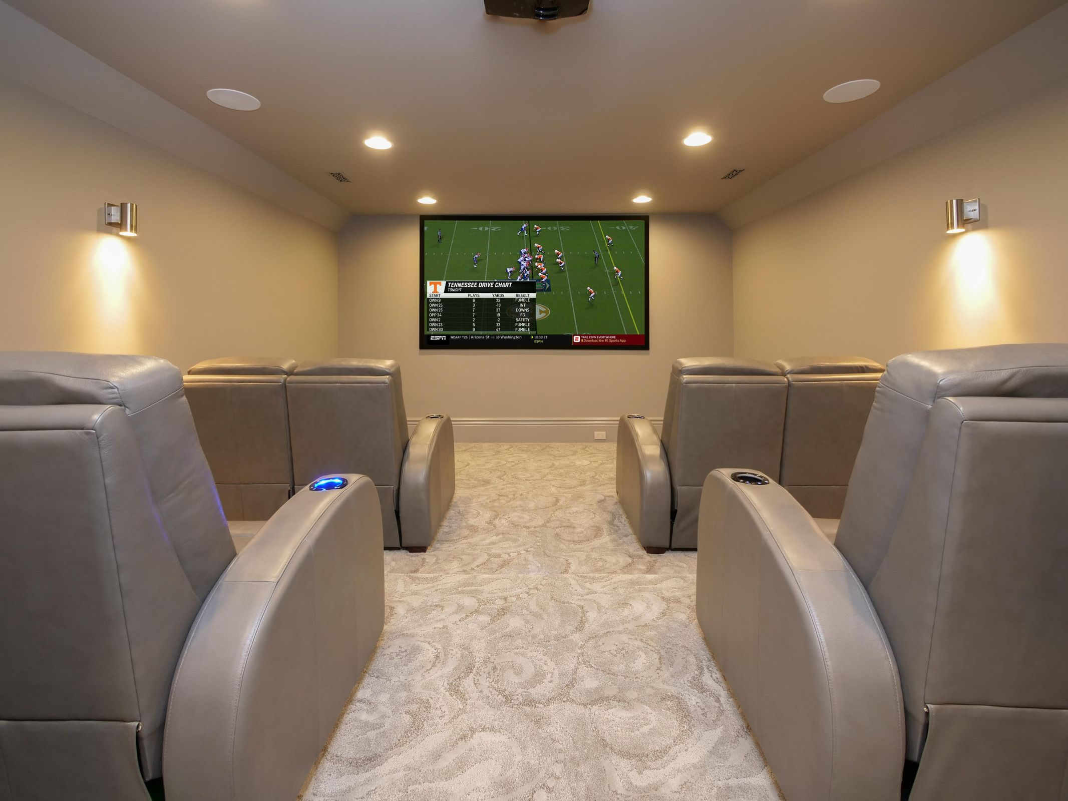 Movie Room (Added UT Vols)