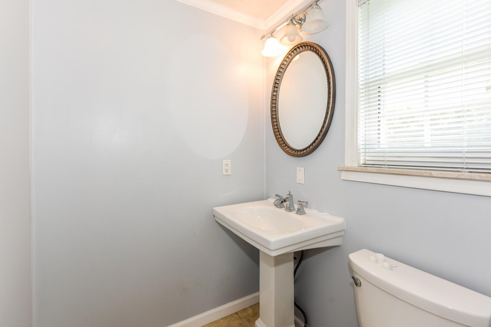 Half bath in 2nd bedroom