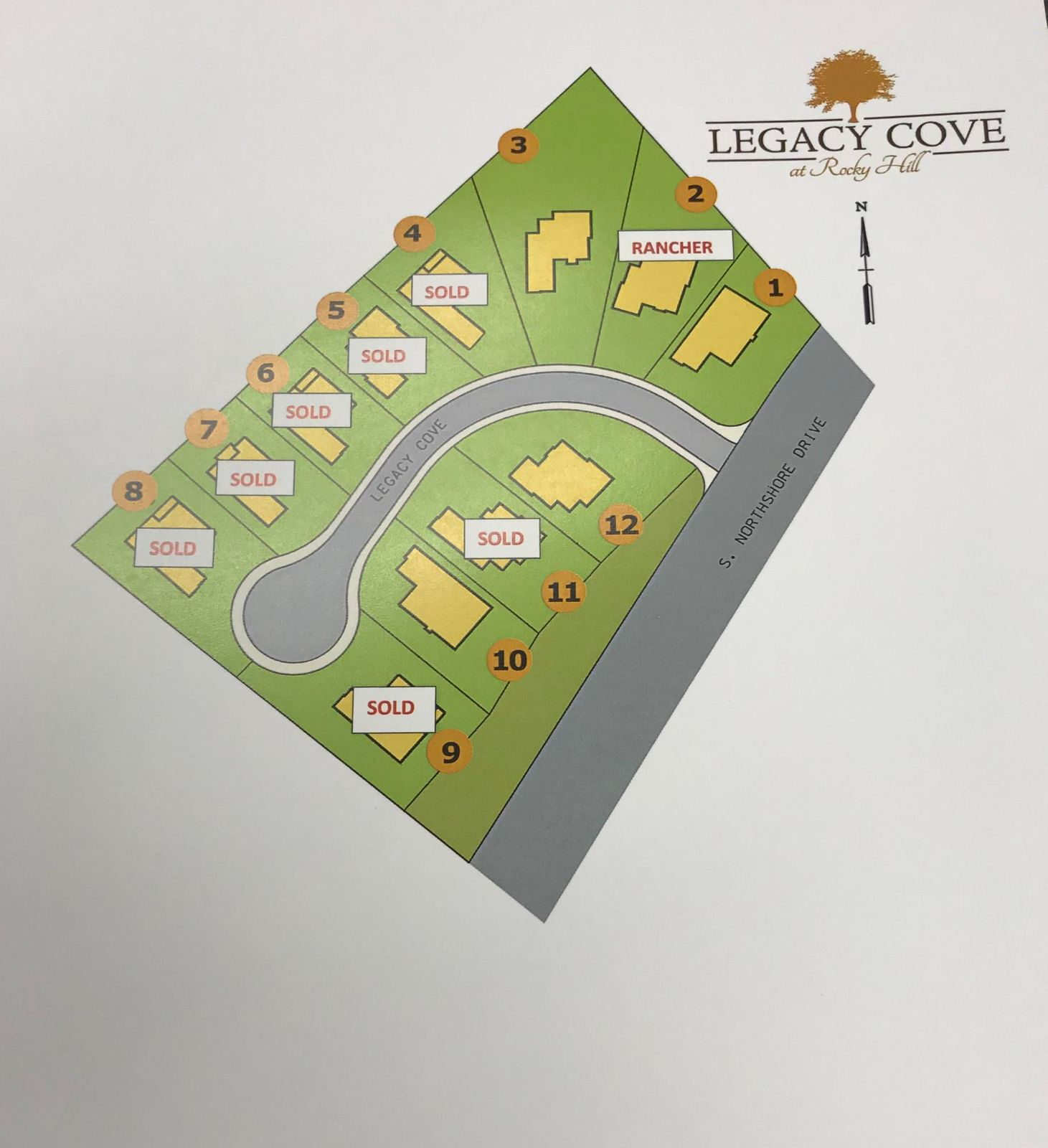 legacy site map